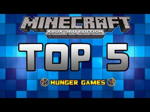 Top 5: Minecraft Xbox 360 Hunger Games Map Downloads - Week 1 [Middle Earth] [End Games]