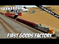 Transport Fever | US Free Play Ep36 | First Goods Factory