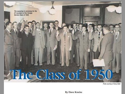 U.S. Diplomacy Center - Foreign Service Class of 1950 - Preview