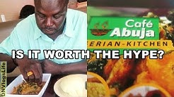 Best Nigerian Restaurant in Houston Texas: Cafe Abuja