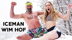SUPERHUMAN Training With ICEMAN Wim Hof & Yes Theory - behind the scenes!