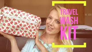 Unpack With Me - Travel Wash Kit