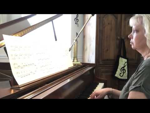 Abide with Me (reminiscient of Bach) Sheet Music here http://pamturnerpiano.com