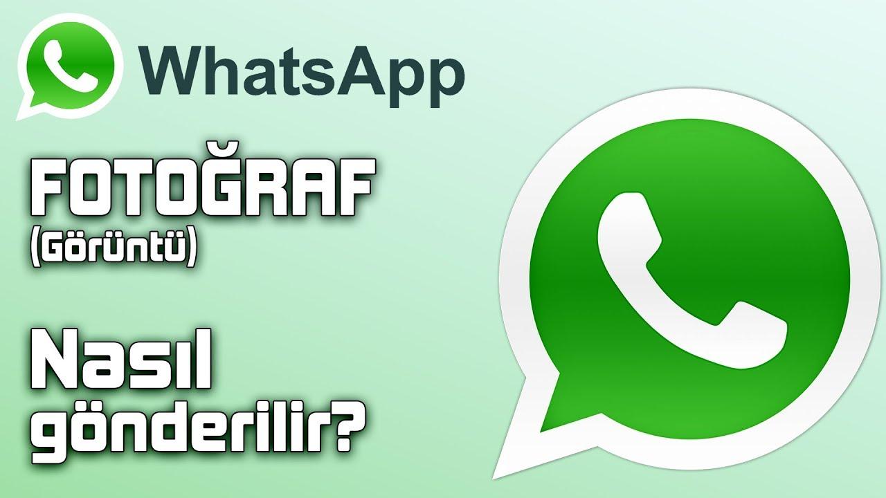 Whatsapp FOTOĞRAF NASIL GÖNDERİLİR? (Whatsapp resim gönderme, foto gönderme)