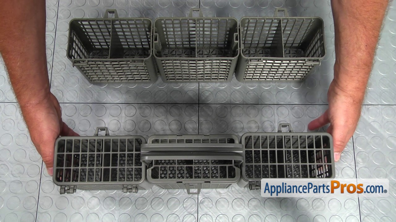 Dishwasher Silverware Basket Assembly (part #5005DD1001A)   How To Replace