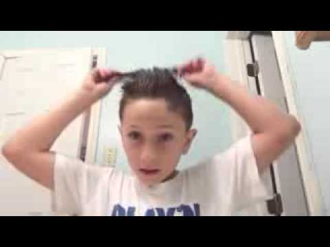 How to do cool hair style for boys - YouTube