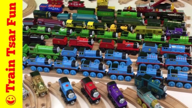 Thomas Wooden Railway Collection All My Train Locomotives Cars Coaches