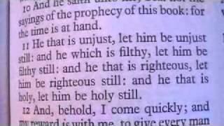 Revelation 22 Holy Bible (King James)