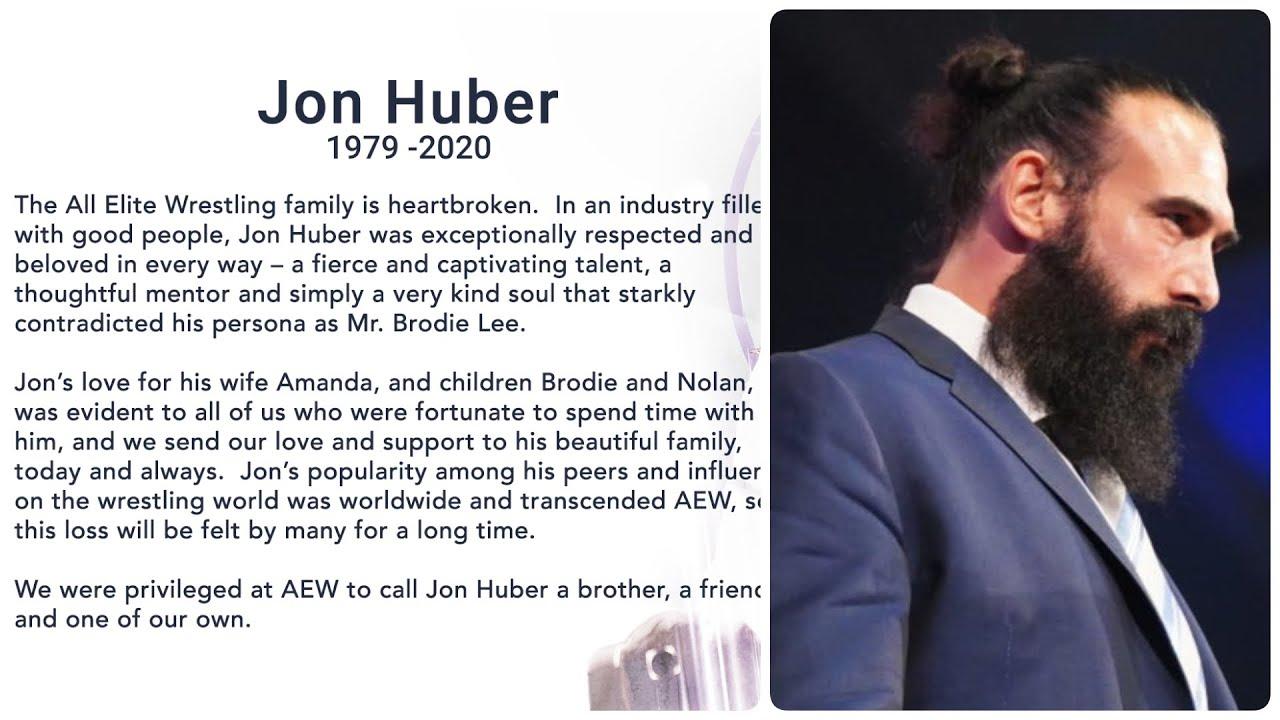 R.I.P Brodie Lee || Jon Huber (Luke Harper) Passes Away At 41 - YouTube