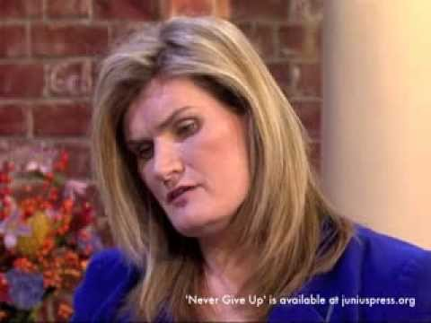 Nikki Sinclaire MEP on ITVs This Morning discussing her book Never Give Up