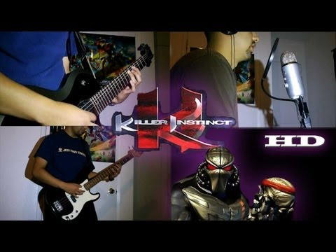 Killer Instinct Title Theme (The Instinct) On Guitar / Bass / Keyboard