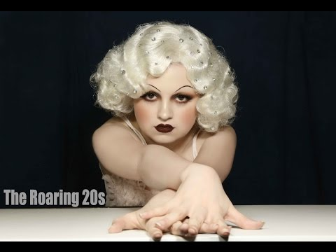 Jean Harlow inspired 1920's Makeup Tutorial