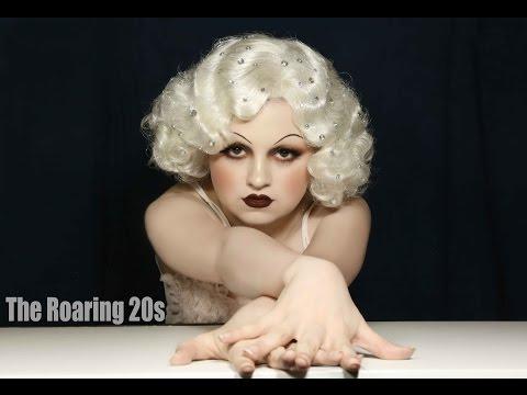 Jean Harlow inspired 1920's Makeup Tutorial