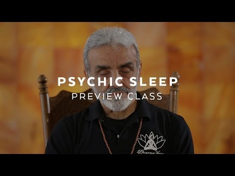 Relaxing Yoga Nidra / Psychic Sleep Class with Sri Dharma Mittra