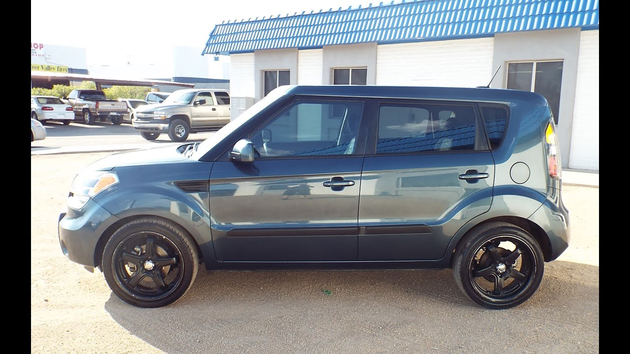 Kia Soul Plus 2011 >> 2011 Kia Soul Plus Custom Rims Loaded PR1410 - YouTube
