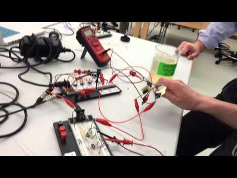 Impedance probe demonstration