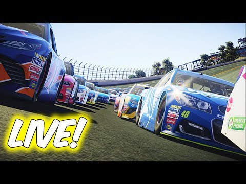 LET'S RACE IN EVERY SERIES! // NASCAR Heat 2 Online Cup, Xfinity, Truck Racing LIVE