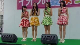 青森の農業活性化アイドル イオン上磯店で開催 りんご娘HP http://www.r...