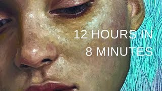 "PAINTING TUTORIAL || Expressive Portrait in Oil - ""Captivate"""