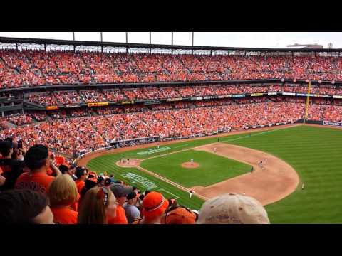 8th inning of Game 2 of the ALDS (Tigers @ Orioles)
