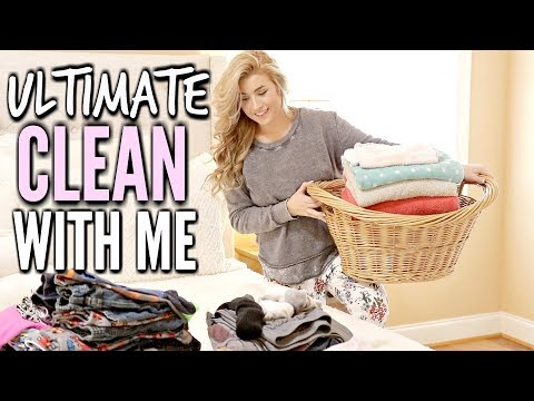 🌸 ULTIMATE CLEAN WITH ME | ALL DAY CLEANING with CLEANING MUSIC