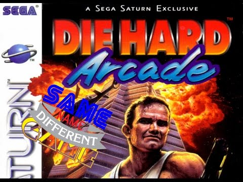 Same Name, Different Game: Die Hard Arcade (Dynamite Deka) Saturn vs. PS2