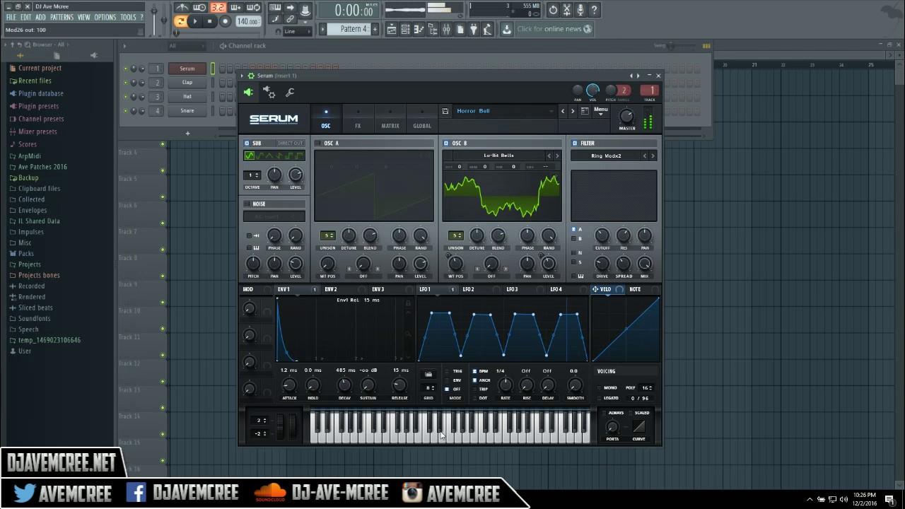 fl studio serum plugin free download
