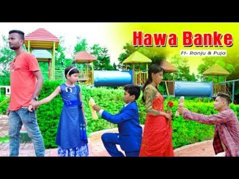 Download Hawa Banke- Darshan Raval | Crazy Love Story | Ft. Ranju | Latest Hindi Songs 2019 |PKR Producation