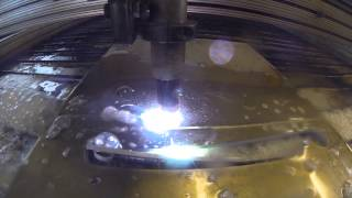 "Cnc Plasma 3/16"" 5052 Aluminum - Foldable Feet For A Stand"