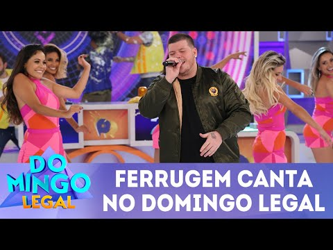 Ferrugem canta no Domingo Legal! | Domingo Legal (06/05/18)