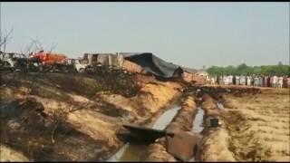 Explota camión cisterna en Pakistán; más de 140 muertos y un centenar de heridos