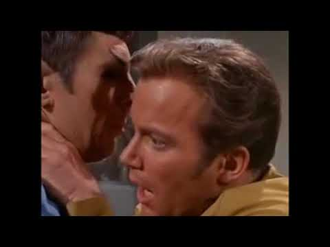 Captain Kirk in Panic Attack with Spock for 10 Hours
