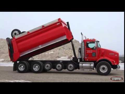 2007 kenworth t800 tandem axle super dump. Black Bedroom Furniture Sets. Home Design Ideas