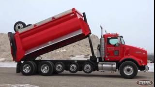 2007 Kenworth T800 tandem axle Super Dump