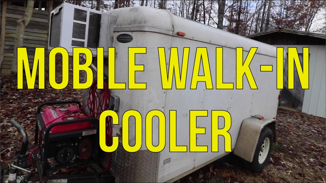 How to build a mobile walk in cooler youtube for Curtis walk in cooler