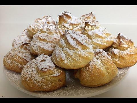 Cream Puffs Recipe - Էկլեր - Պատրաստեք շատ համեղ Էկլեր այս բաղադրատոմսով - Эклеры рецепт - Ekler