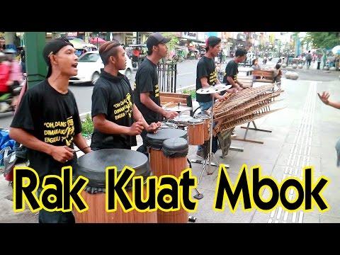 Wes Rak Kuat Mbok - Angklung Malioboro (Pengamen Jogja) CAREHAL Cari Rejeki Halal