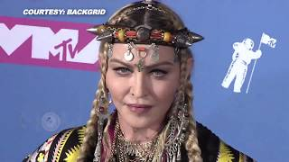 MTV VMAS 2018 Madonna's STUNNING LOOK Tribute To Aretha Franklin at VMAS 2018 Red Carpet