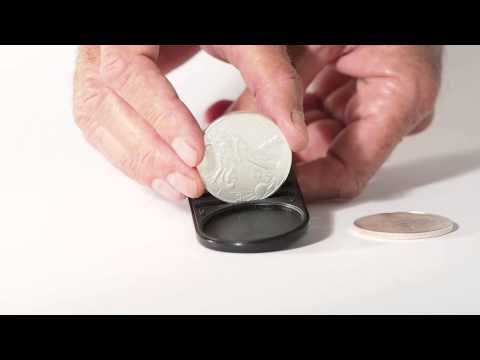 How to detect a fake American Eagle Silver coin with the Fisch