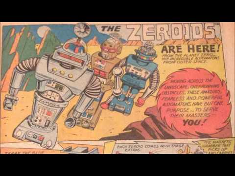 COMIC MAN PRODUCTIONS: IDEAL ZEROIDS TOY CAPTAIN ACTION COMIC BOOK AD 1969