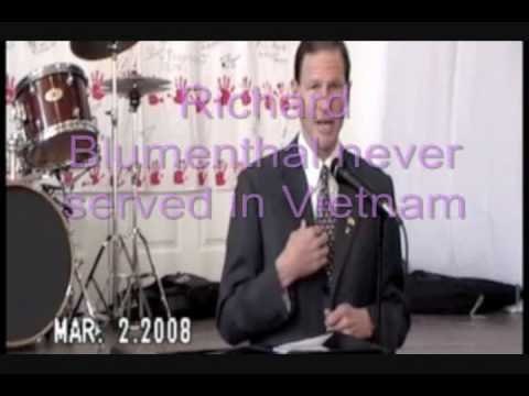 Richard Blumenthal lies about serving in Vietnam