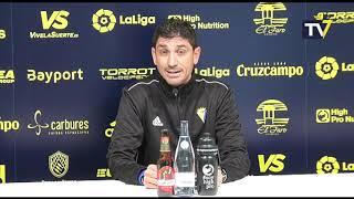 Juanma Pavón en previa Cabecense-Cádiz B (22-11-18)