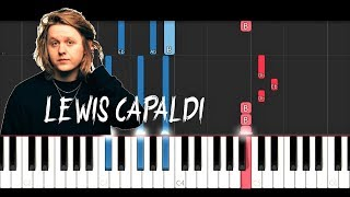 Lewis Capaldi - Hold Me While You Wait (Piano Tutorial)
