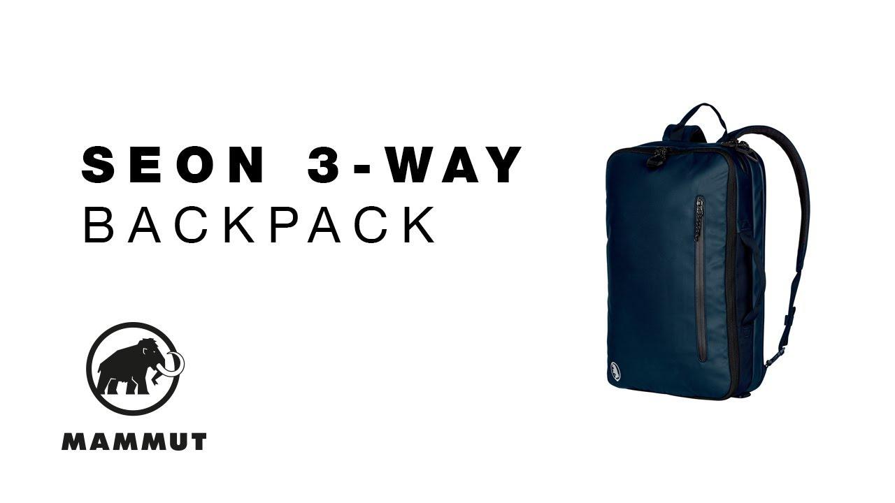 reasonable price best deals on 100% genuine Mammut Seon 3-Way Backpack