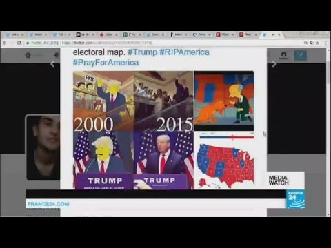 US election special: Social media explodes in wake of Trump win