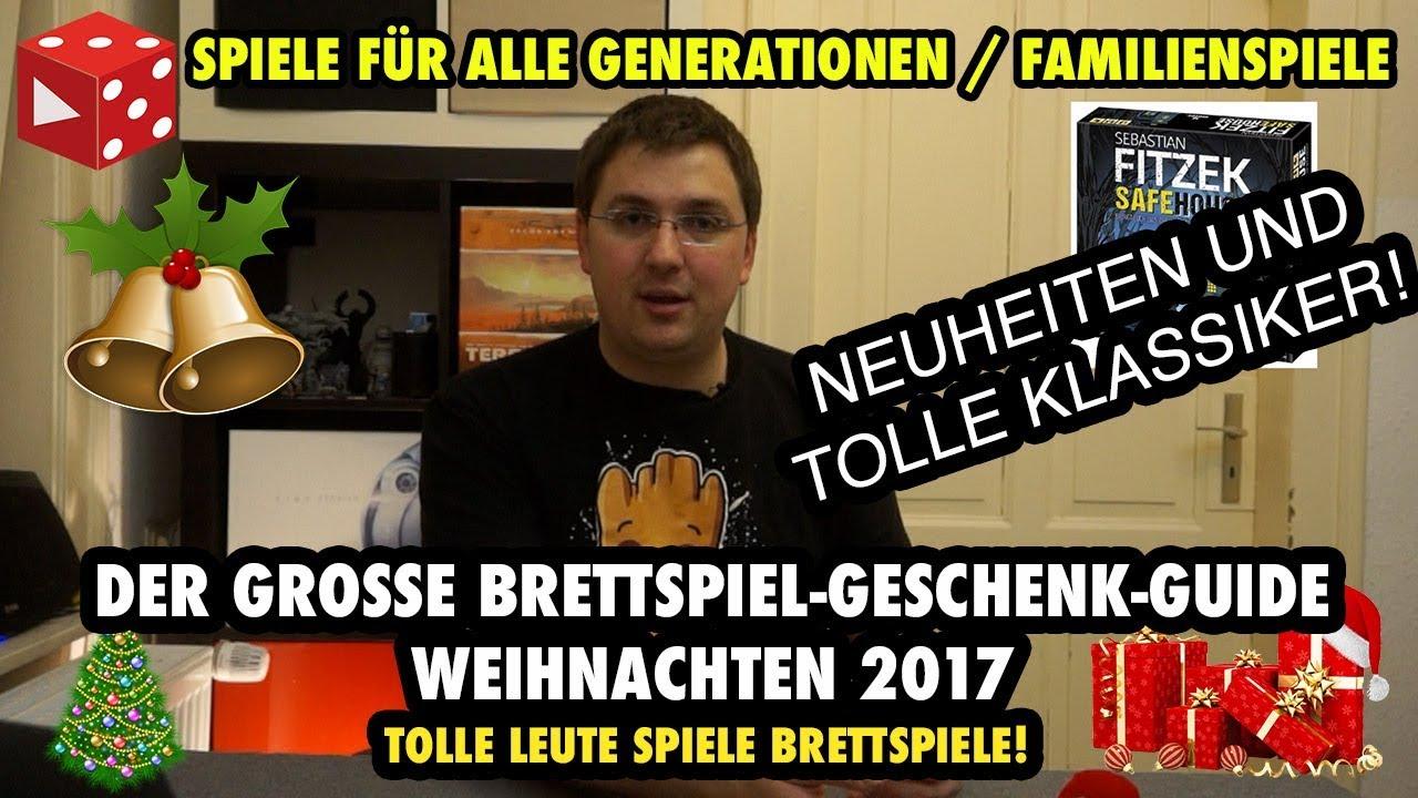 Weihnachten 2017: Spiele für alle Generationen / Familienspiele ...