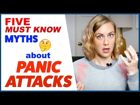5  PANIC ATTACK MYTHS  | Kati Morton | Kati Morton