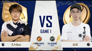 Team Liquid vs Invictus Gaming - Group A Initial - Gold Club World Cup