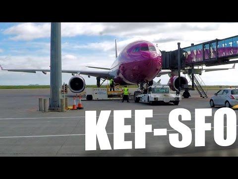WOW Air - Keflavik to San Francisco - Airbus A330-300 - WW161