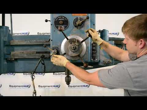 "Cincinnati Gilbert 3A 5' x 11"" Radial Arm Drill"